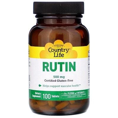 ルチン, 500 mg, 100錠