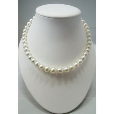 あこや真珠ネックレス(バロック真珠)