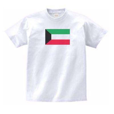 クウェート 国 国旗 Tシャツ