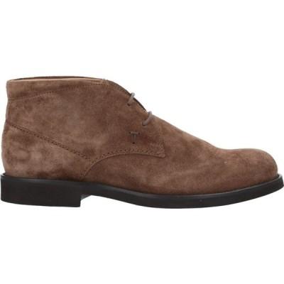 トッズ TOD'S メンズ ブーツ シューズ・靴 boots Brown