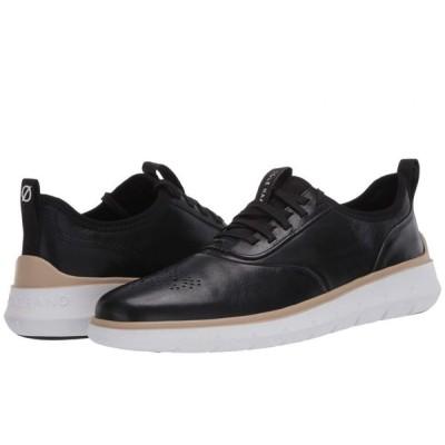 コールハーン Cole Haan メンズ スニーカー シューズ・靴 Generation Zerogrand Black Leather/Perf/Optic White