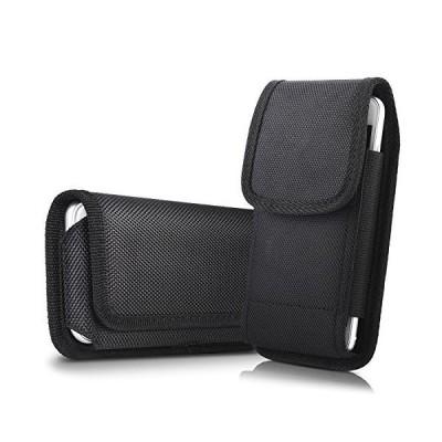 【並行輸入品】miadore ベルトクリップ&ループ付き縦型携帯電話ホルダー ベルトポーチケース iPhone 8 Plus 7 Plus 6S Pl