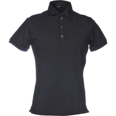 ディーゼル DIESEL メンズ ポロシャツ トップス polo shirt Black