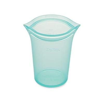 Zip Top シリコン製 保存容器 日本正規品 カップ L 710ml レンジ 食洗器対応 ブルー ジップ トップ