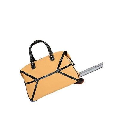 Mellow World Fashion Daffodil Duffel Roller Bag, Khaki, One Size 並行輸入品