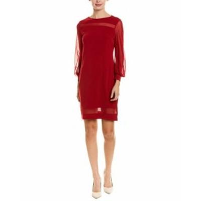 Red  ファッション ドレス Hone Year Sheath Dress 4-6 Red