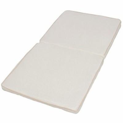 アイリスオーヤマ エアリー ロングクッション 高反発 通気性 洗える 抗菌防臭 アイボリー CARL-6012
