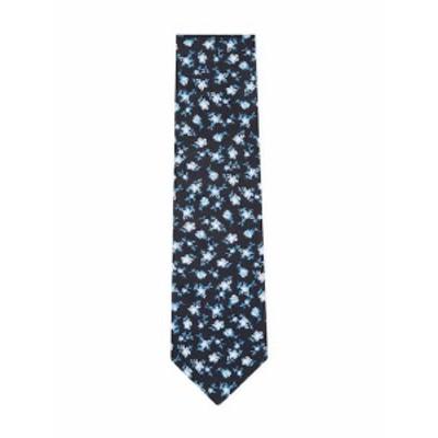 J S ブランク&カンパニー メンズ ネクタイ Floral Print Tie