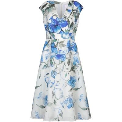 CAROLINA HERRERA 7分丈ワンピース・ドレス アイボリー 0 シルク 100% 7分丈ワンピース・ドレス