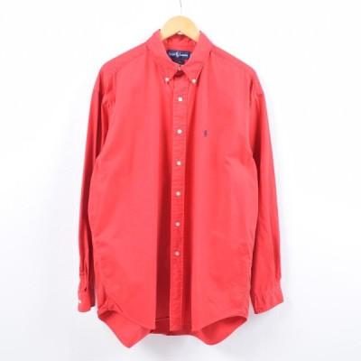 ラルフローレン 長袖 ボタンダウンシャツ メンズXL /wbi0314