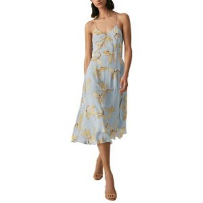 レイス レディース ワンピース トップス Reiss Alli Floral Strappy Dress multicolor