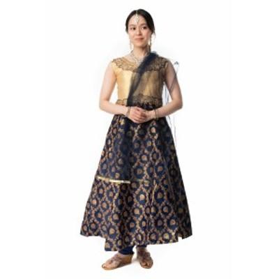 【送料無料】 インドのゴージャスパンジャビ ドレスセット / パンジャビドレス パンジャービードレス サルワール カミーズ サリー レディ