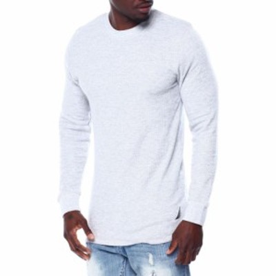ノーティカ Nautica メンズ トップス Thermal Long Sleeve Top Heather grey