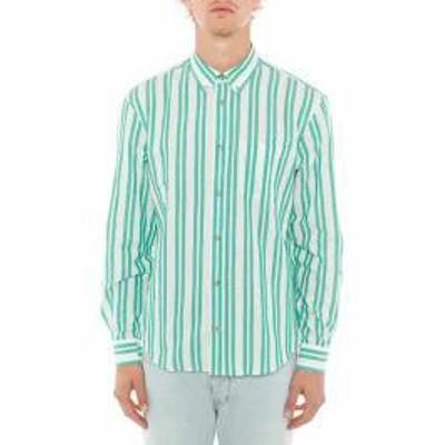 Acne Studios メンズシャツ Acne Studios Striped Shirt White/Green