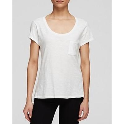 レディース 衣類 トップス Alternative Apparel NEW White Womens Size Medium M Scoop-Neck Blouse ブラウス&シャツ
