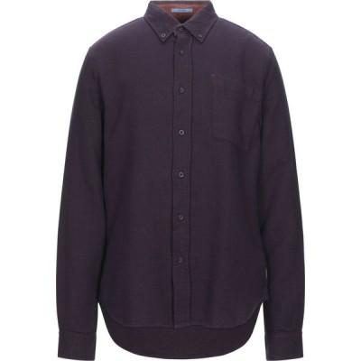 スコッチ&ソーダ SCOTCH & SODA メンズ シャツ トップス Solid Color Shirt Deep purple