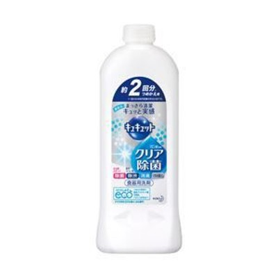 ds-1639810 (業務用セット) 花王 キュキュットクエン酸効果 詰替用 1本385ml 【×10セット】 (ds1639810)