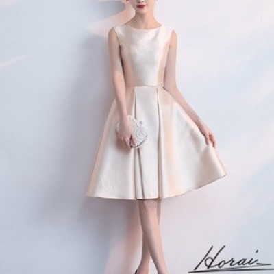 韓国 パーティードレス ノースリーブ 膝丈 スリム ワンピドレス  結婚式 二次会 秋冬 パーティー 20代 30代 40代