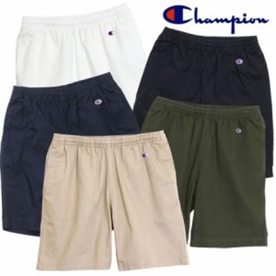 チャンピオン Champion コットンツイルハーフパンツ メンズ ベーシック ショートパンツ (C3-H518) 春 新作