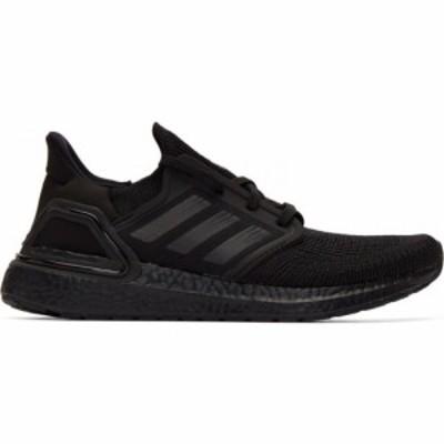 アディダス adidas Originals メンズ スニーカー シューズ・靴 black ultraboost 20 sneakers Core black/Core black/Solar red
