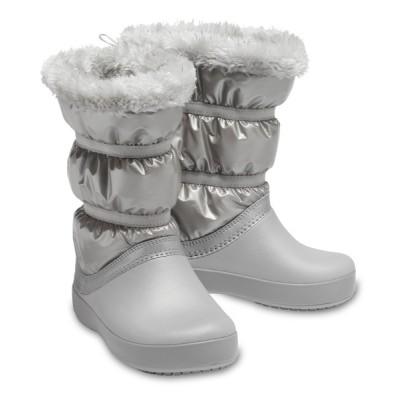 crocs / クロックバンド ロッジポイント メタリック ブーツ CB LodgePoint Metallic Boot KIDS シューズ > ブーツ