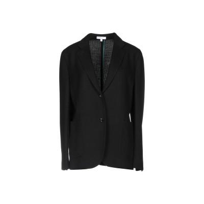 ボリオリ BOGLIOLI テーラードジャケット ブラック 44 バージンウール 63% / コットン 37% テーラードジャケット