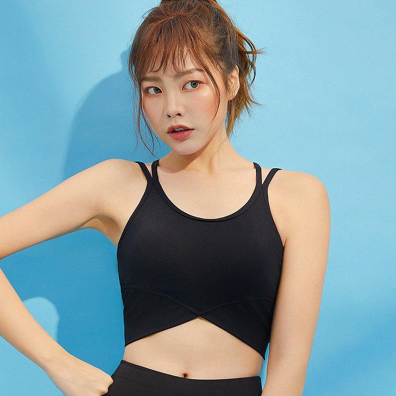 【Olivia】無鋼圈瑜珈款U型美背輕運動內衣