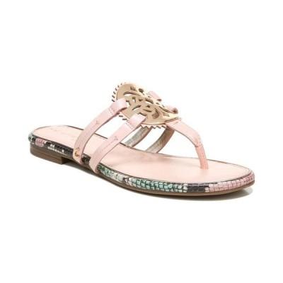 サムエデルマン レディース サンダル シューズ Women's Canyon Medallion Flat Sandals