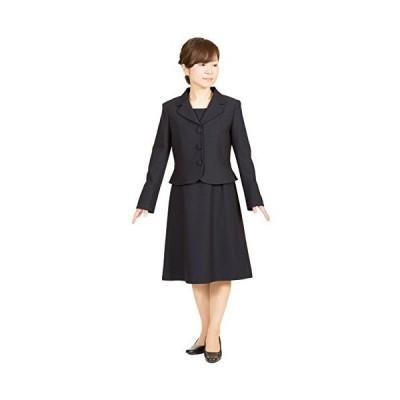 メアリーココ    お受験スーツ アンサンブル 小柄サイズ テーラードジャケット レディース 濃紺 面接 学校説明