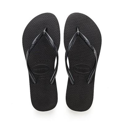 ハワイアナス サンダル レディース シューズ Havaianas Women's Slim Sandal Black