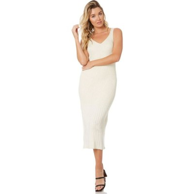 リュー スティック Rue stiic レディース パーティードレス ワンピース・ドレス dayle knit dress Off white