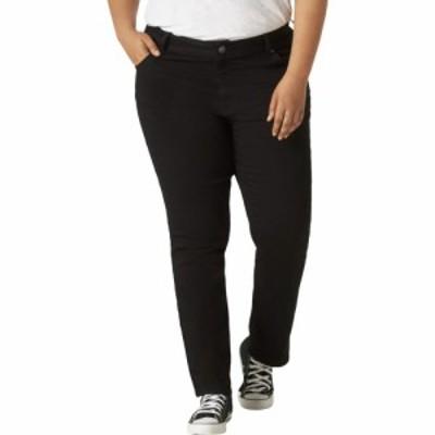 リー Lee レディース ジーンズ・デニム ボトムス・パンツ Regular Fit Straight Leg Jeans (Plus) Black