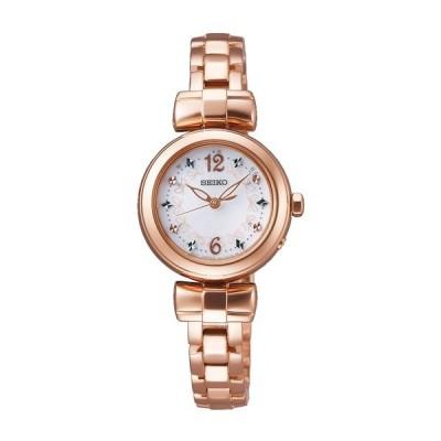 セイコー ティセ SWFH044 レディース 腕時計 ピンクゴールド SEIKO ソーラー電波時計 新品
