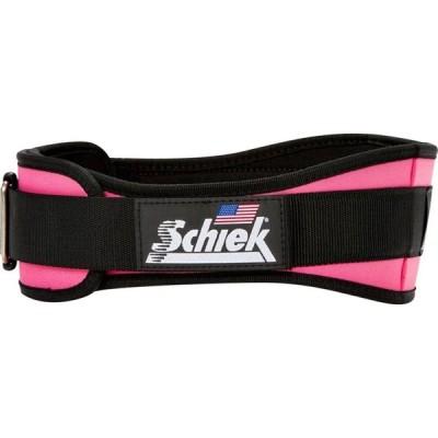 """シーク Schiek レディース フィットネス・トレーニング ベルト Sports Model 2004 Nylon 4 3/4"""" Weight Lifting Belt pink"""