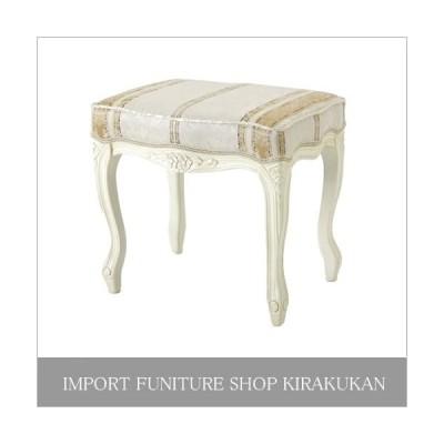 Fiore フィオーレ スツール(白家具)SA-C-1470-WH4