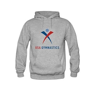 Andrea Sotaski Team USA Gymnastics Logo Mens Hoody Sweatshirt S Grey