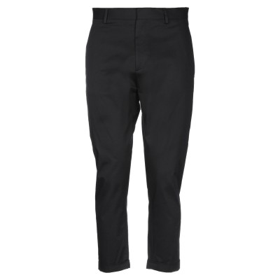 LOW BRAND パンツ ブラック 33 コットン 97% / ポリウレタン 3% パンツ