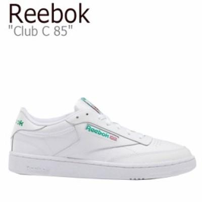 リーボック スニーカー REEBOK メンズ レディース CLUB C 85 クラブC 85 WHITE ホワイト AR0456 シューズ