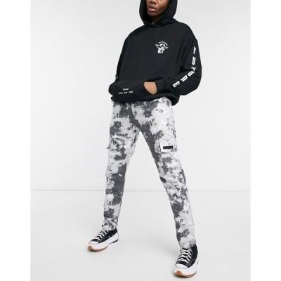 シックスジュン メンズ カジュアルパンツ ボトムス Sixth June mountain camo pants in gray Grey