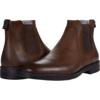 ジョンストン&マーフィー Johnston & Murphy メンズ ブーツ チェルシーブーツ Maddox Chelsea Boot Tan Oiled Waterproof Full Grain Leather