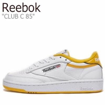 リーボック スニーカー REEBOK メンズ レディース CLUB C 85 クラブ C 85 WHITE ホワイト YELLOW イエロー FX3373 シューズ