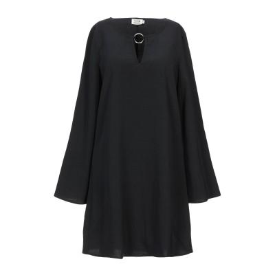 MOLLY BRACKEN ミニワンピース&ドレス ブラック S ポリエステル 92% / ポリウレタン 8% / 金属 ミニワンピース&ドレス
