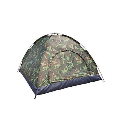 海外限定 Lykos 3-4 Person Outdoor Festival Camping Hiking Folding Dome Tent Waterproof Camouflage