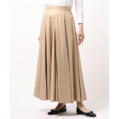スカート クリアツイルボリュームフレアスカート