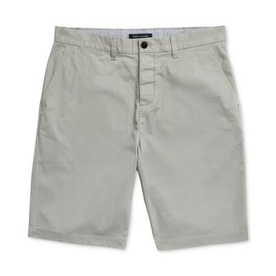 トミー ヒルフィガー メンズ ハーフパンツ・ショーツ ボトムス Men's 10 Classic-Fit Stretch Chino Shorts with Magnetic Zipper