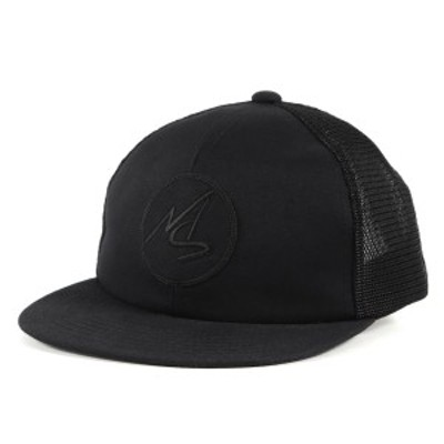 MASSES マシス キャップ ロゴマーク メッシュキャップ MESH CAP LOGO SAME COLOR 18AW ブラック 【メンズ】【中古】【K3123】