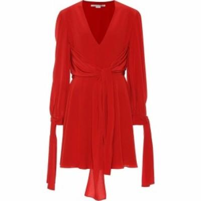 ステラ マッカートニー Stella McCartney レディース ワンピース ワンピース・ドレス Silk minidress red romance