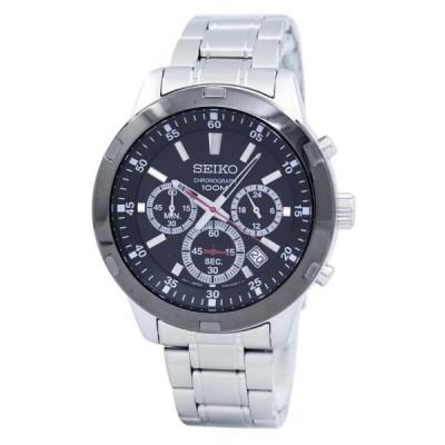 【送料無料】セイコー SEIKO メンズ腕時計 海外モデル QUARTZ CHRONOGRAPH クオーツ クロノグラフ SKS611 SKS611P1
