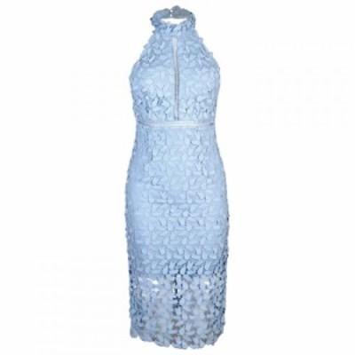 バルドー Bardot レディース ワンピース ワンピース・ドレス Gemma Lace Halter Neck Dress PASTEL BLUE