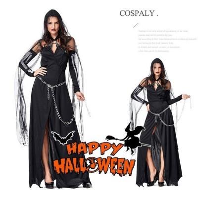 ハロウィン衣装 大人用 女性用 ドレス  witch 巫女 ウィッチガール まじょ ハロウィン 衣装 仮装 コスプレ  レディース  イベント